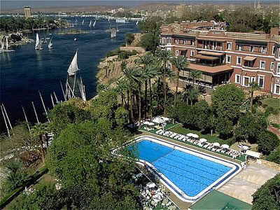 Sofitel old Cataract Activities In Aswan, Egypt